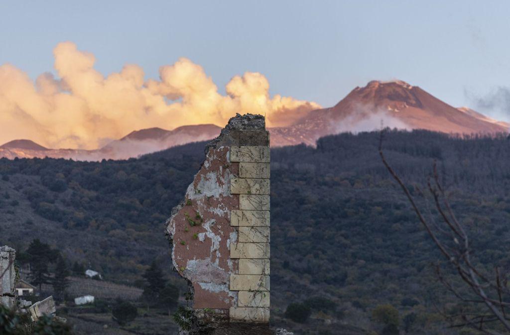 Der Vulkan Ätna auf Sizilien ist einer der aktivsten Vulkanen der Welt. Foto: AP