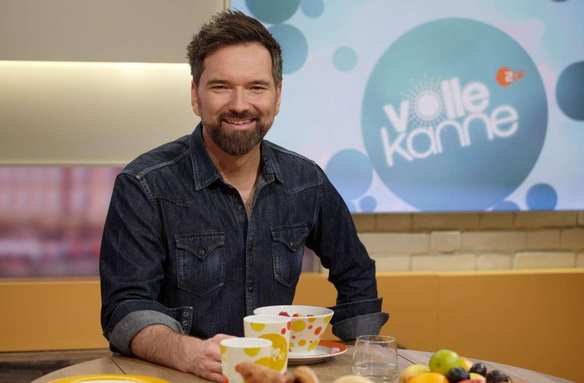 """Moderator Ingo Nommsen macht Schluss bei """"Volle Kanne"""". Foto: dpa/Henning Kaiser"""