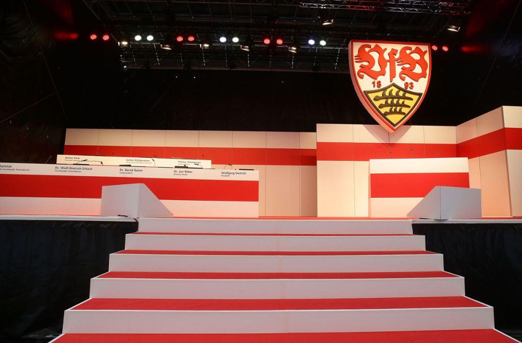 Im Juli konnte bei der Mitgliederversammlung des VfB Stuttgart nicht abgestimmt werden. Nun kommt eine neue Technik zum Einsatz. Foto: Baumann
