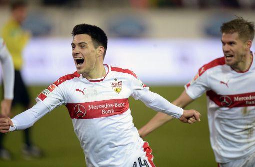 Brekalos Traumtor lässt den VfB jubeln