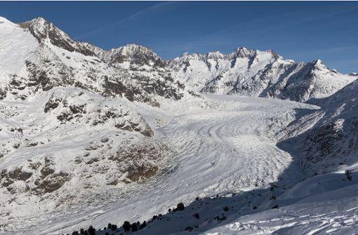 Aletschgletscher schwindet in dramatischem Tempo