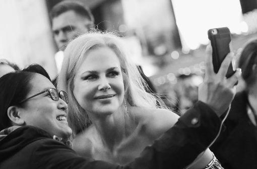 Selfie mit Nicole Kidman und Colin Farrell