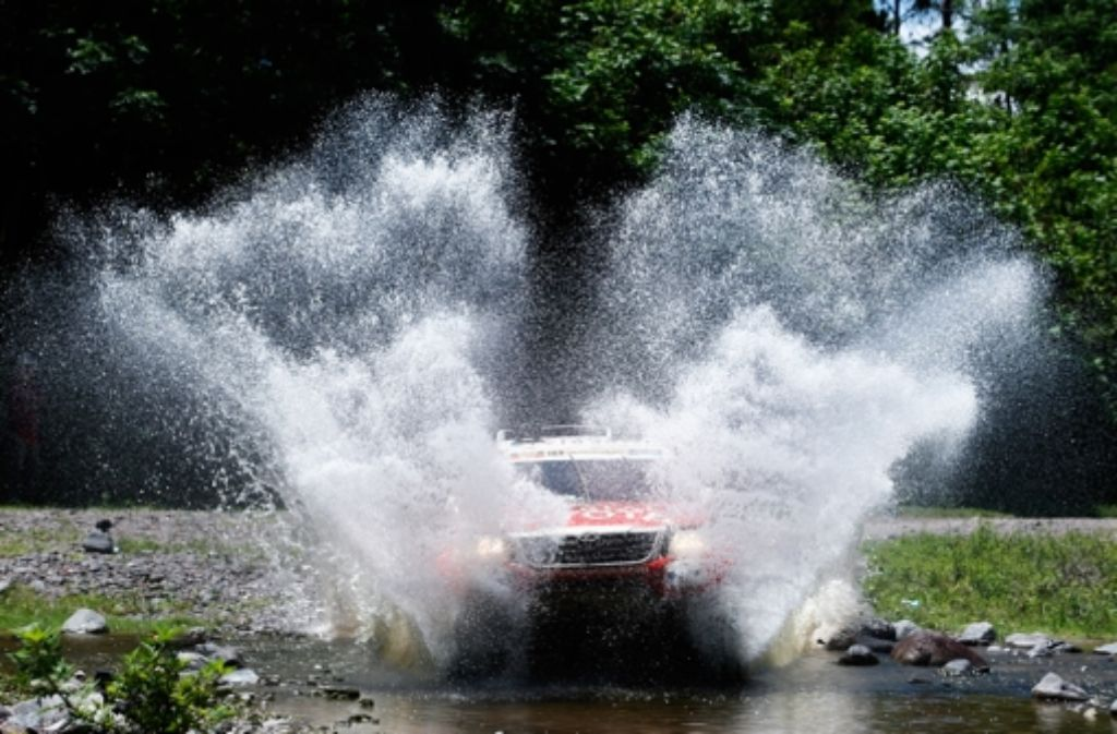 Bei der Rallye Dakar geht es hoch her. Foto: Getty Images South America