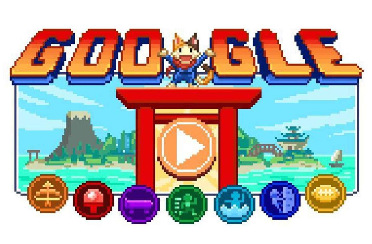 Mit der Eröffnung der Olympischen Spiele ging das neue Doodle an den Start. Foto: Google