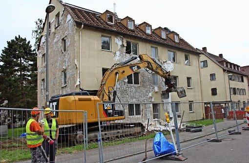 SWSG lässt Haus nach Brandschaden abreißen