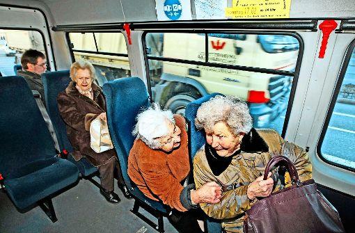 Bürgerbusvereine wollen nicht abspecken