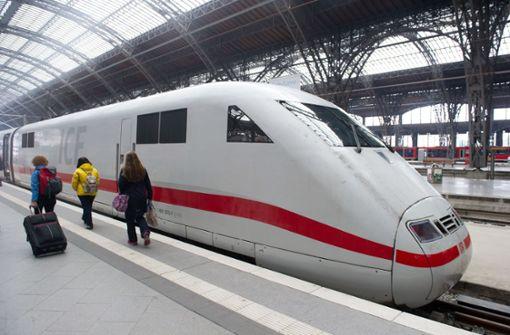 ICE-Betrieb auf Strecke Frankfurt-Kassel war betroffen