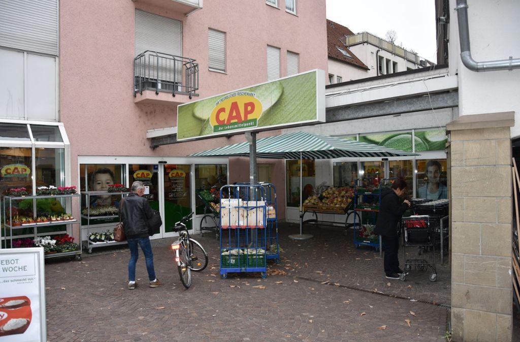 Der Cap-Markt in Untertürkheim sichert seit vielen Jahren die Nahversorgung im Ort. Das gilt auch für Obertürkheim. Foto: Kuhn