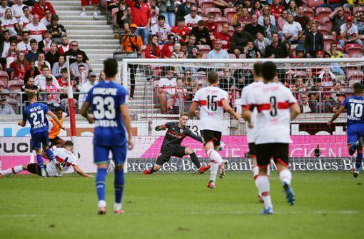 Harmloser VfB nutzt das Momentum nicht