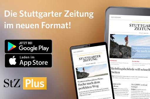 Die StZ Plus-App nun auch für Android und iPhone