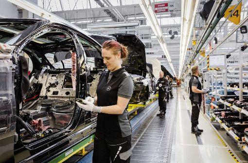 Zwangspause für Daimler-Werk Sindelfingen