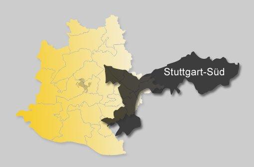 So hat Stuttgart-Süd gewählt