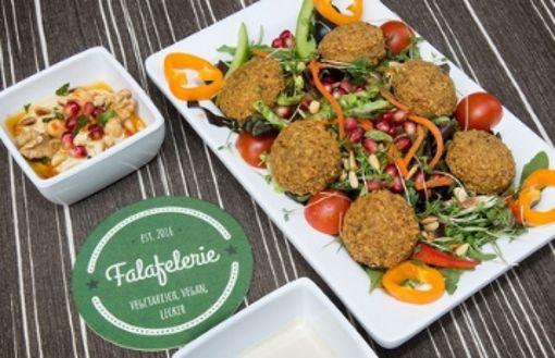 Falafel-Sushi in der Esslinger Fußgängerzone
