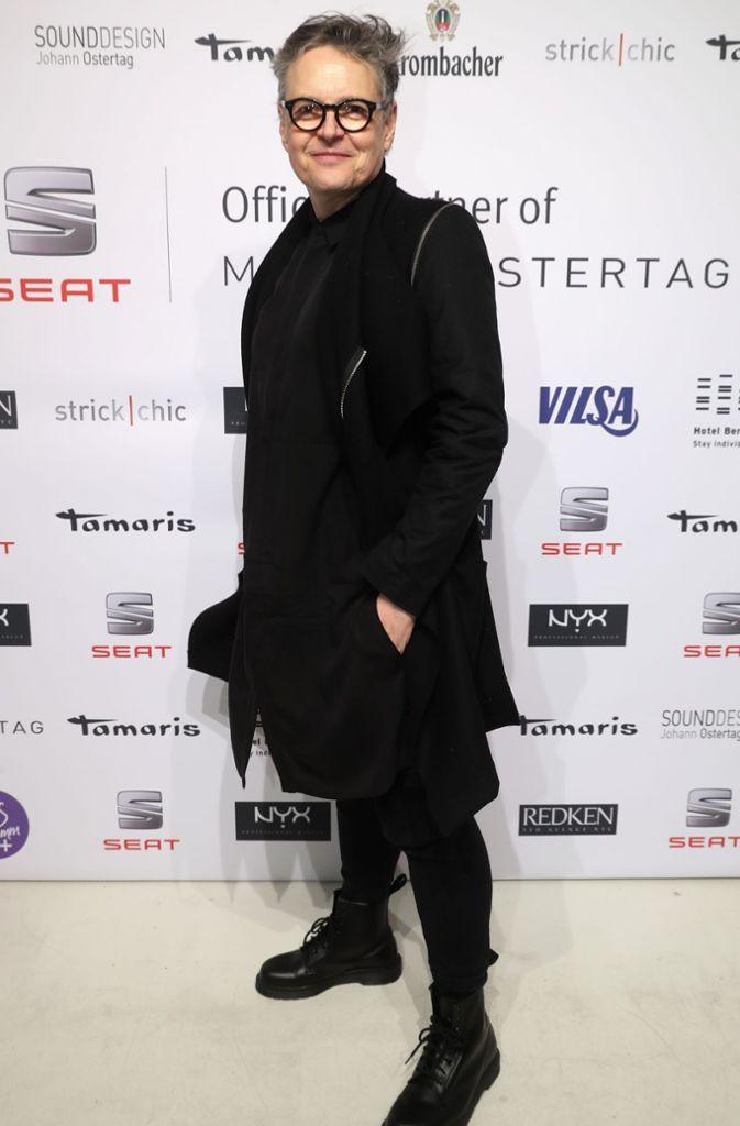 Der Casting Director Rolf Scheider ist bei der Berlin Fashion Week ganz in seinem Element. Foto: Getty Images Europe