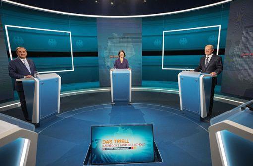 Drei Kandidaten, drei Kampfansagen