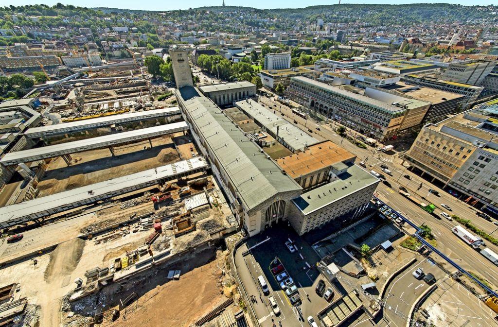 Über die  Kosten von Stuttgart21 gehen die Meinungen auseinander. Foto: dpa