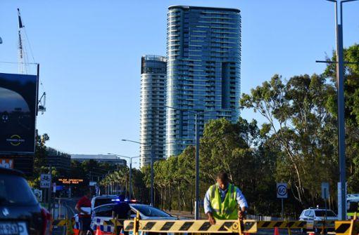 """Nach """"Knackgeräuschen"""": Hochhaus in Sydney geräumt"""