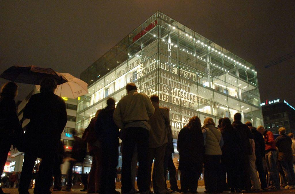 Die Lange Nacht der Museen findet am 21. März weder im Kunstmuseum noch sonst irgendwo in der Stadt  statt. Foto: dpa//Bernd Weißbrod