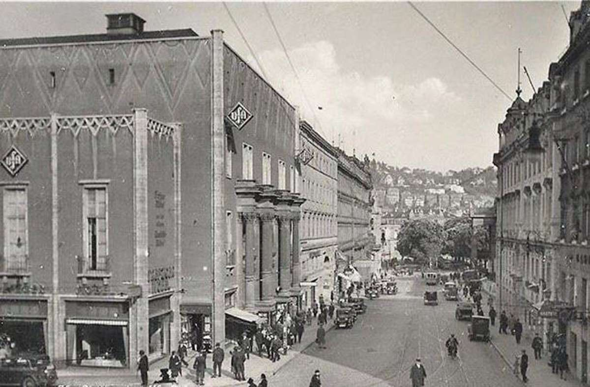 Der Stuttgarter Ufa-Palast befand sich über viele Jahre im Metropol-Gebäude, im früheren Bahnhof. Foto: History to go/Lokalteil-Verlag
