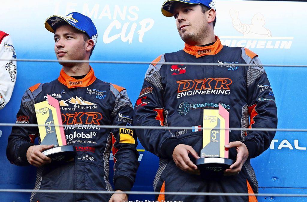 Große Enttäuschung  bei  Laurents Hörr (links) und François Kirmann. Foto: nh/privat
