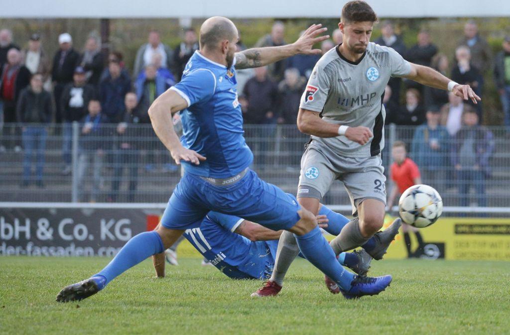 Die Stuttgarter Kickers siegten souverän gegen Ilshofen. Foto: Pressefoto Baumann