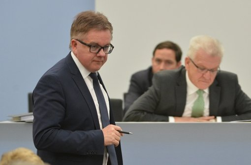 Hat Guido Wolf (links) überhaupt eine Chance gegen Winfried Kretschmann? Foto: dpa