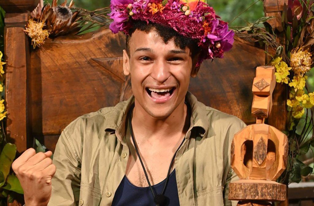 Hat sich die Krone beim Dschungelcamp erobert: Prince Damien ist der Gewinner der RTL-Show. Foto: dpa/Stefan Menne