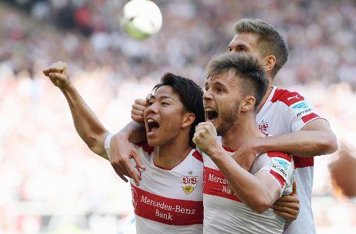 Asano schießt den VfB an die Tabellenspitze