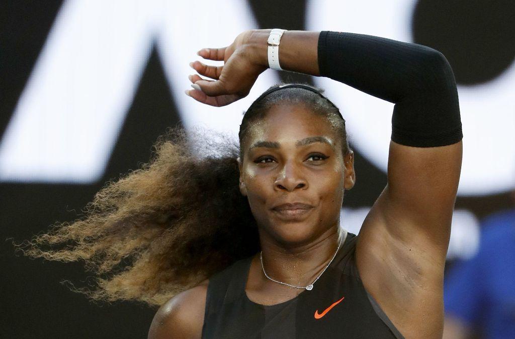 Serena Williams erwartet in diesem Jahr ihr erstes Kind. (Archivfoto) Foto: AP