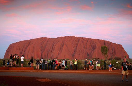 Klettern am Uluru bald verboten