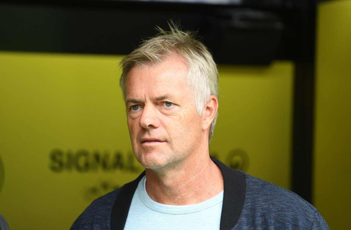 Tom Bartels kommentierte das 0:6-Debakel des DFB-Teams für die ARD. Foto: imago images/CHAI