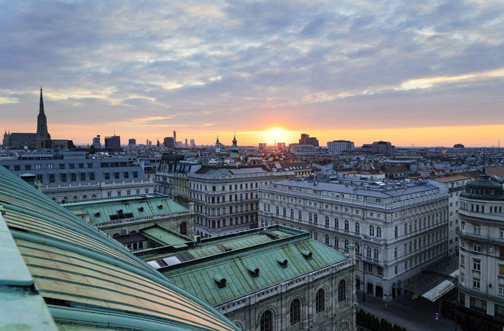 Der Himmel über Wien:  Michael Köhlmeier steht in der österreichischen Tradition der Seelenzergliederung. Foto: Wien Tourismus/Christian Stemper