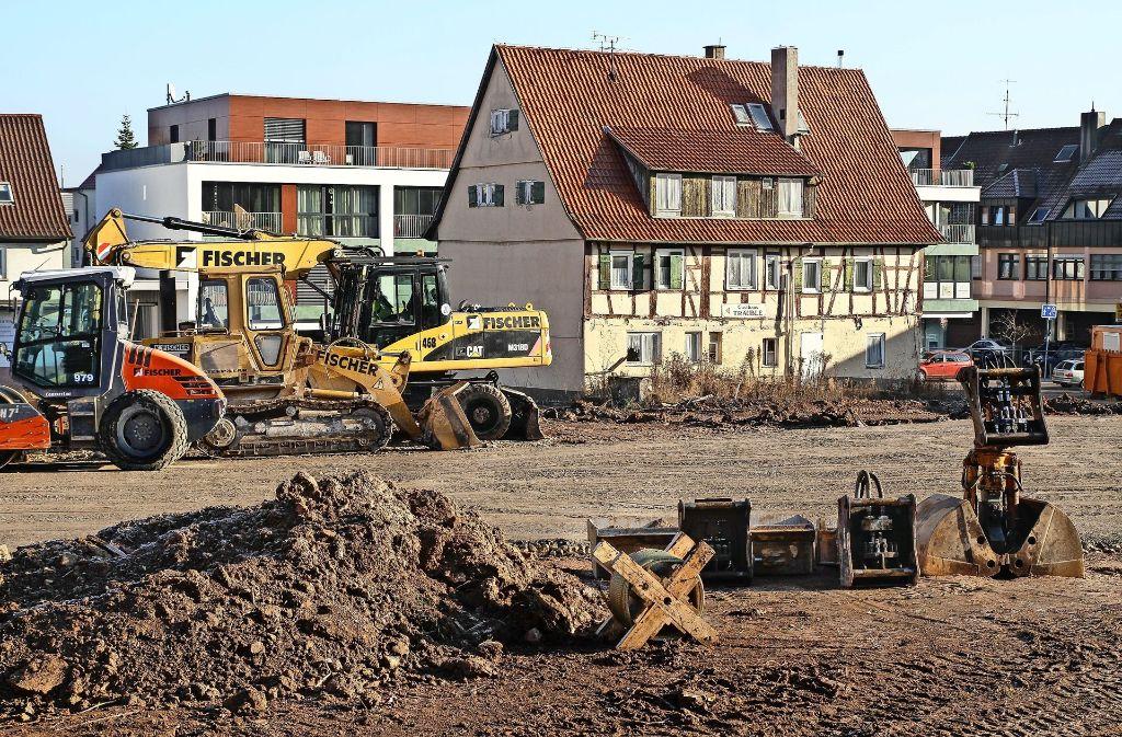 Nach den Weihnachtsferien geht es auf der Baustelle weiter. Foto: factum/Bach