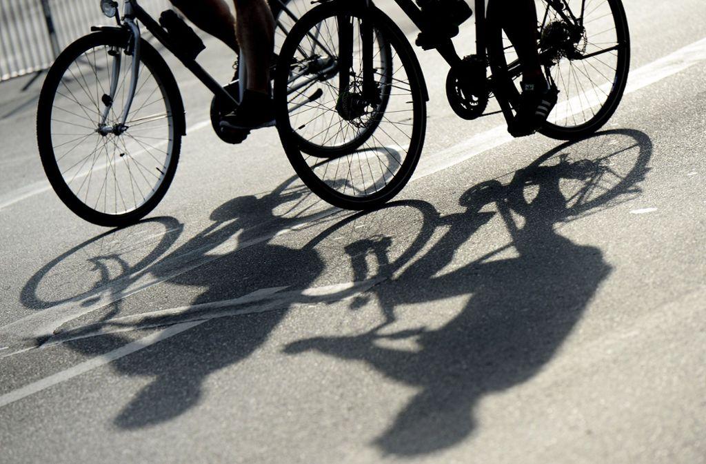 Ein Radfahrer ist in Ludwigsburg schwer verletzt worden. Foto: dpa