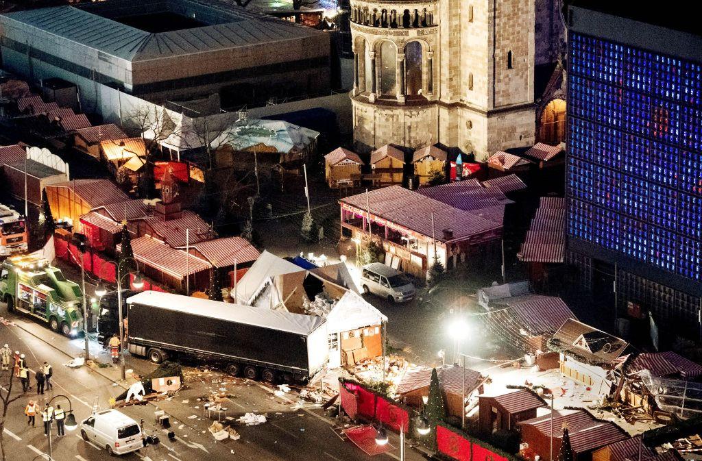 8: Der Anschlag am Berliner Breitscheidplatz hat viele Schwächen der Sicherheitsbehörden offenbart. Foto: dpa