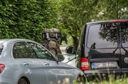 Polizei  nimmt Mann fest