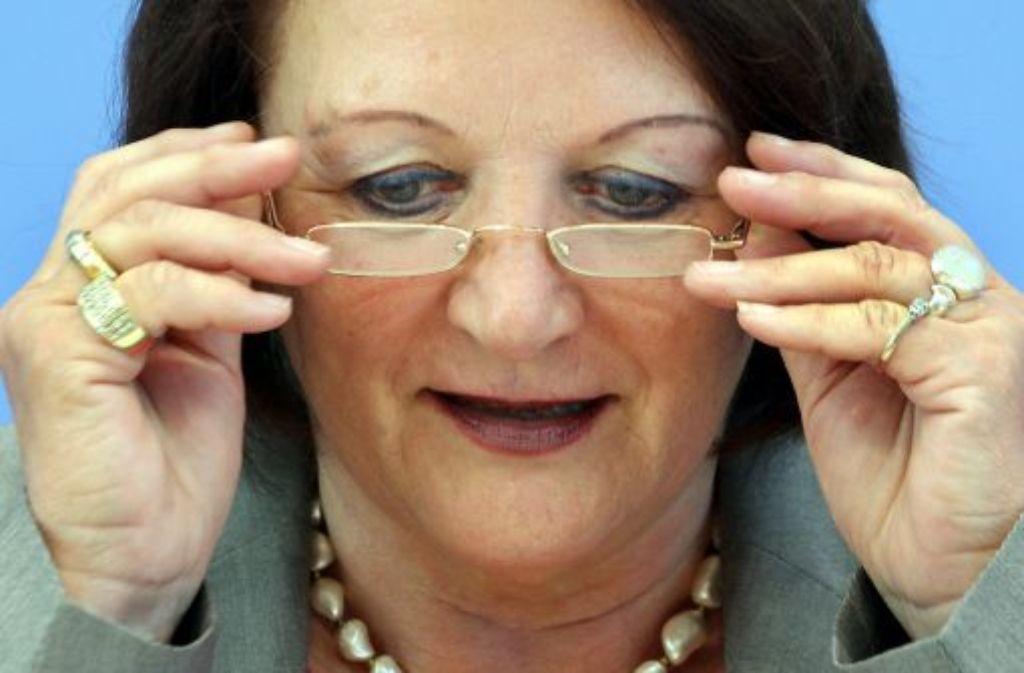 Bundesjustizministerin Sabine Leutheusser-Schnarrenberger will Ankauf von Steuer-CDs unter Strafe stellen. Foto: dpa