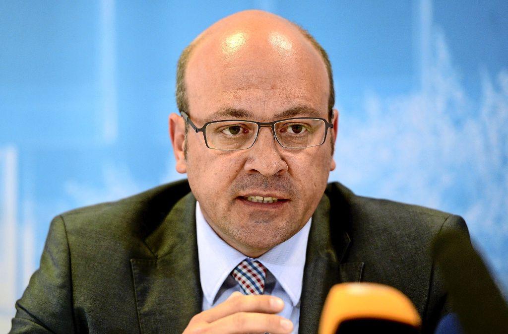 Alexander Throm tritt als CDU-Kandidat in Heilbronn bei der Bundestagswahl 2017 die Nachfolge des baden-württembergischen Innenministers Thomas Strobl an. Foto: dpa