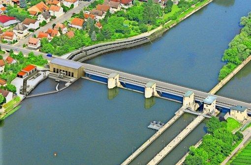 Neckar wird zur Baustelle