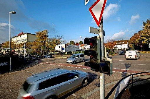 Stadt baut die Märklin-Kreuzung um