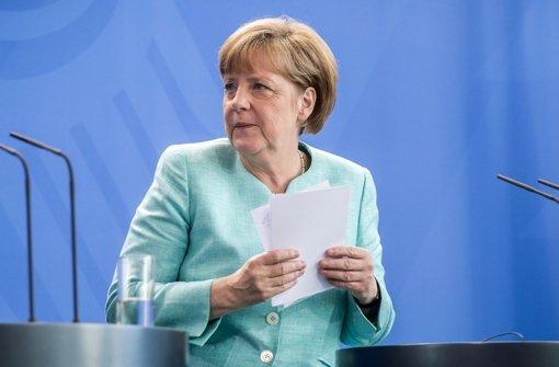 Merkel dämpft Hoffnung auf Last-Minute-Einigung
