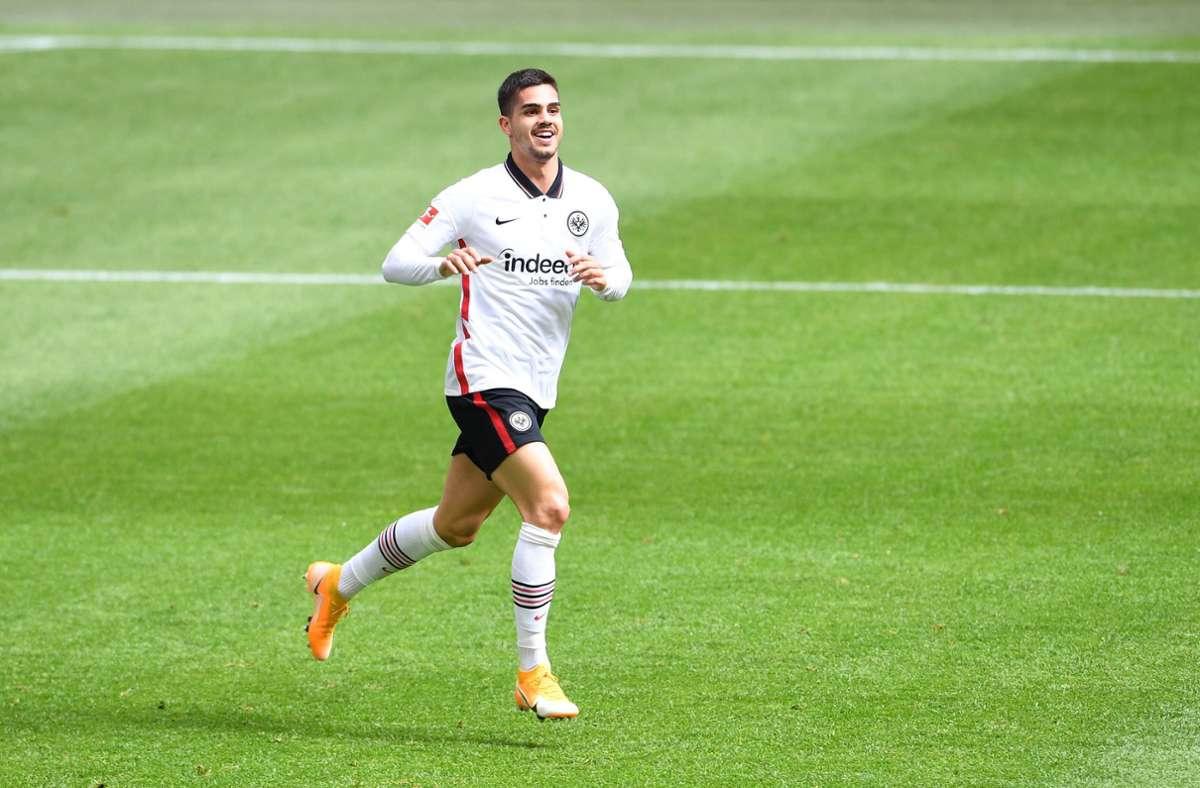 André Silva wechselt innerhalb der Bundesliga. Foto: imago images/Revierfoto