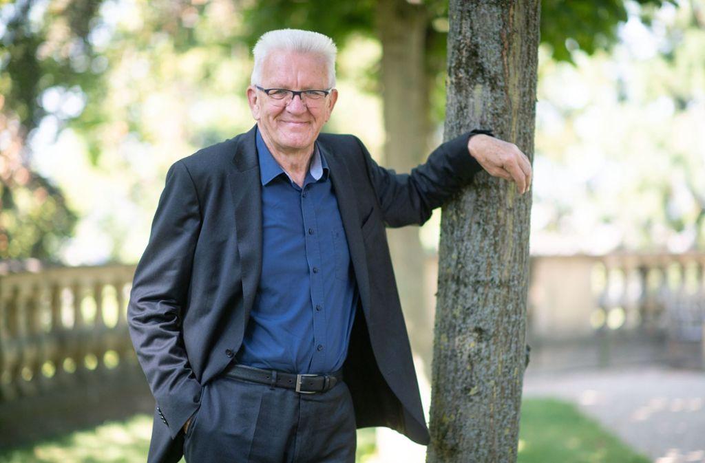 Ministerpräsident Winfried Kretschmann ist bei den Deutschen äußerst beliebt. Foto: dpa/Marijan Murat