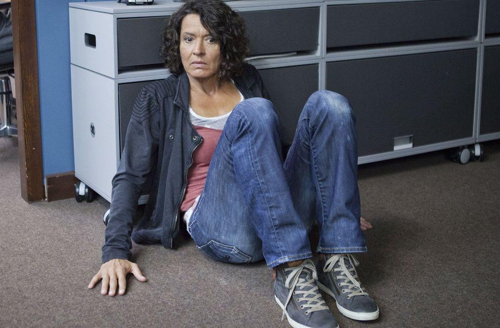 """Ulrike Folkerts, hier in einer """"Tatort""""-Folge, zieht es ans Theater. Foto: SWR"""