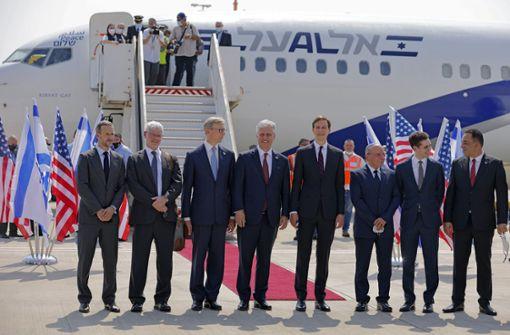 Erster Direktflug zwischen Israel und den Emiraten