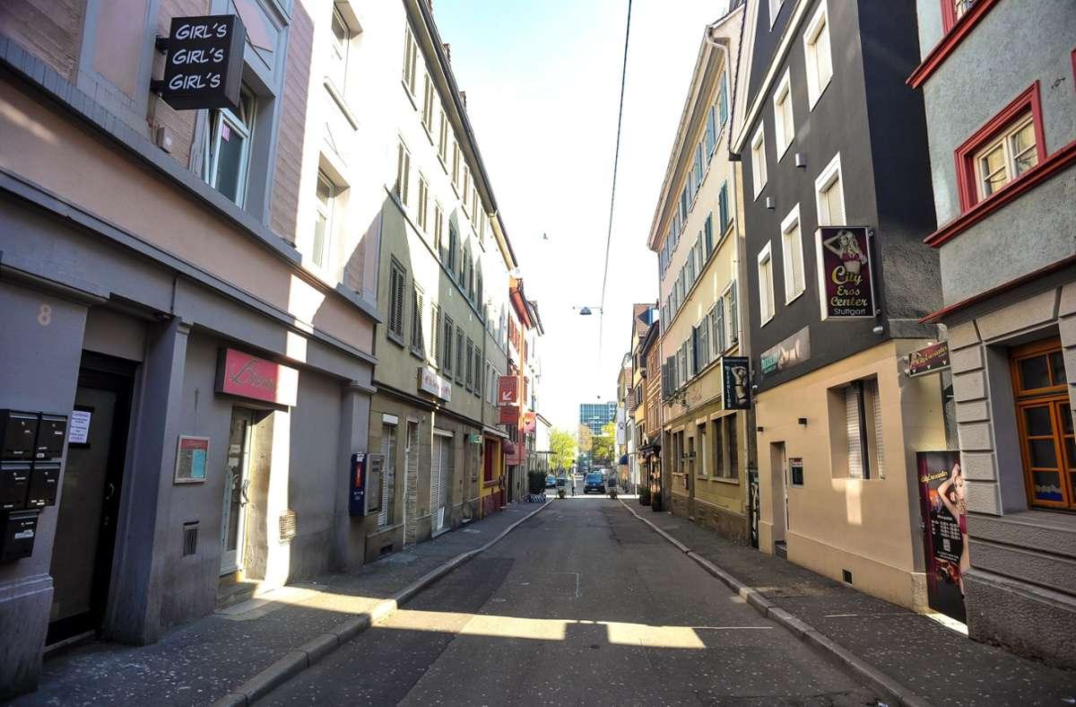 Das Leonhardsviertel ist derzeit wegen der Corona-Krise und den damit verbundenen Maßnahmen verwaist. (Archivbild) Foto: Lichtgut/Max Kovalenko