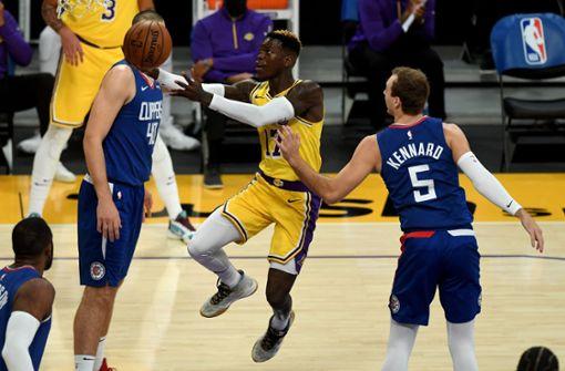 Schröder überzeugt beim Debüt trotz Lakers-Niederlage