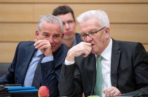 Die CDU  im Schatten der Grünen