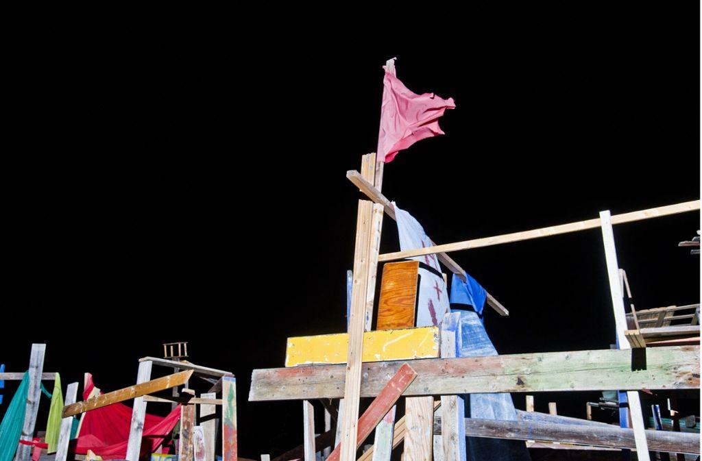"""""""Die Bilder rocken. Hier geht alles kreuz und quer, poppig bunt vor kosmischen Schwarz"""", lobt die Jury des Europäischen  Architekturfotografie-Preises die Werke von Nikolas Fabian Kammerer. Fotografien der Preisträger sind zurzeit in der vhs-photogalerie in Stuttgart zu sehen. Foto: Nikolas Fabian Kammerer/architekturbild e.V."""