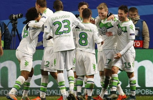 Wolfsburg überwintert in Europa